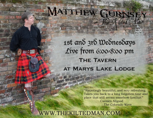 The Kilted Man LIve at Marys Lake Lodge